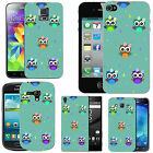 pattern case cover for many Mobile phones - azure colourful bow droplet