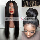 Best Human Hair Lace Front Wigs African Americans Brazilian Remy Silky Straight