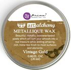 Finnabair Art Alchemy Prima METALLIQUE WAX .68 oz aLTERED - CHOOSE FROM 7 COLORS