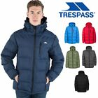 Trespass Clip Mens Padded Jacket Warm Heavyweight Puffer Coat with Hood