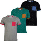 D-Code Newquay Sail Print Pocket T-Shirt  Mens Size