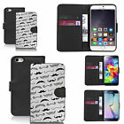 faux leather wallet case for many Mobile phones - tash on