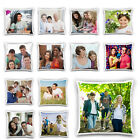 "Custom Digital Photo Printed Personalised Cushion Cover, Gift Pillowcase 18""x18"""