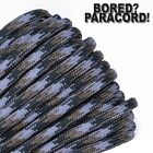 Front Range Camo - 550 Paracord Rope 7 strand Parachute Cord 10 25 50 100 ft