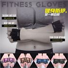 Fitness Ridding Sports Gloves Gripper Gym Weight Lifting Pad 4 Fingers Anti Slip