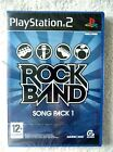 37529 Rock Band Song Pack 1 [NEW & SEALED] - Sony Playstation 2 Game (2008)