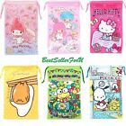 Sanrio Cleaning Storage Pouch iPhone7 Plus Makeup Pencil Pen Coin Drawstring Bag