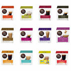 NESCAFE DOLCE GUSTO PODS: 3 BOXES x16 CAPSULES (YOU PICK) Inc 50 Lotus Biscuits