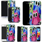 hard slim case cover for many mobiles - young owls