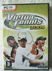 37208 PC Game - Virtua Tennis 2009 [NEW & SEALED] - (2009) Windows XP SEGA-P