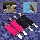 2pc Stretch Dress Cinch Pants Clip Sheet Mattress Fasteners Strap Holder Gripper