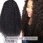 Curly Glueless Full Lace Wigs For Women Indian Remy Human Hair Lace Front Wig 6A