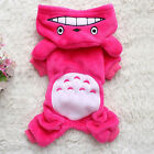 Pet Clothes Totoro Hoodie Costume Outfits Dog Jacket Coat Puppy Cat Apparel Suit