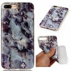 Granite Marble Stone Texture Soft TPU Gel Slim Case Cover Skin For APPLE IPHONE