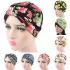 Women Soft Printing Indian Style Stretchable Turban Hat Chemo Head Wrap