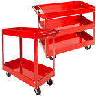 2 / 3 level mobile workshop tool trolley dolly assemblage dolly cart red