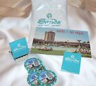 *THE SANDS HOTEL & CASINO LAS VEGAS*12 PIECE LOT*MATCHES*POSTCARD*CHIPS*I*