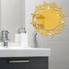 Acrylic Mirror Entrance Decoration Wall Sticker Room Mural Decals