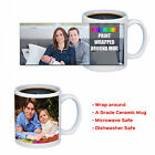 Personalised Custom Printed Mug Cup Your Image Photo Text Design Gift Coffee Tea