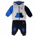 Converse All Star Grippy Stripe Hooded Infant Baby Tracksuit Set
