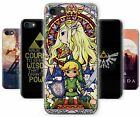 The Legend of Zelda Link Triforce Art Rubber Phone Cover Case fits Apple iPhone