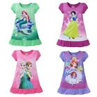 Summer Kid baby Short Sleeved Dress for Girl Home Furnishing  Nightgown  Clothes