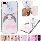 Thin  Printed  TPU Rubber  Popular Case Cover For Apple iPhone SE 5G 6S 7 7Plus