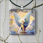 ARCHANGEL MICHAEL PENDANT NECKLACE 3 SIZES CHOICE -ghj6Z