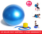 Yoga Ball Exercise Fitness Balance Gymnastic Strength 45cm 55cm 65cm + PUMP