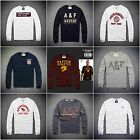 Mens Abercrombie & Fitch A&F by Hollister Long Sleeve T Shirt size S M L XL XXL