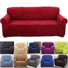Sofa Couch Slip Cover Stretch Covers Elastic Fabric Fit Settee Protector Throws