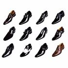 Mens Leather Smart Wedding / Funeral / Interview / College / Uniform Shoes