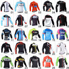 New Men Team Cycling Long Sleeve Tops Bicycle Jersey Racing Clothing Sports Wear