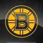 """Boston Bruins NHL Vinyl Decal Sticker - 4"""" and Larger - 30+ Color Options! $6.99 USD on eBay"""