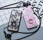 Bow All-inclusive Anti-fall Finger Chain Lanyard Phone Case for IPhone 6/6plus