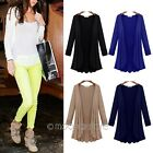 Plus Size Women Long Sleeve Open Front Solid Thin Coat Spring Autumn Cardigan