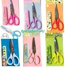 Sanrio Kid Toddler Baby Food Crafts Shears Stainless Steel Safety Scissors+Cover