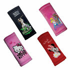 4 x Themes Safety Belt Pads Car Seat Belts Covers for Kids ❤ Genuine Disney ❤ HQ