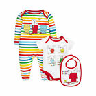 Snoopy Baby Newborn Boy's Shirt and Bottoms Set - 3 Piece