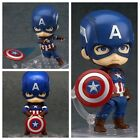 NEW Nendoroid 618 Avengers CAPTAIN AMERICA Hero's Edition Action Figure In Box