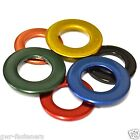 M4 BLUE STAINLESS STEEL Coloured Form A Flat Washers - GWR Colourfast® - Coated