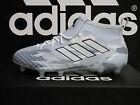 NEW AUTHENTIC ADIDAS ACE 17.1 Primeknit Firm Ground Cleats - Grey/White; BB5957