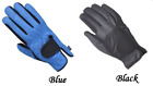 Light Weight Blue & Black Summer Gloves - Breathable Water & Wind Resistant