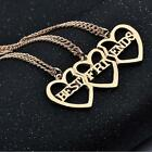 "Fashion jewelry ""best friend"" friendship Necklace pendant 3 sets combined"