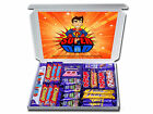 SUPER DAD Personalised Gift for Him Chocolate Bars Retro or Sweets Hampers Mens