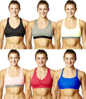 Womens Padded Sports Bra Ladies Gym Workout Fitness Exercises Crop Top Vest