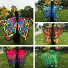 Women Big Butterfly Wing Shawl Stole Scarf Beach Wrap Costume Party quoted