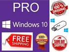 WINDOWS 10 PRO 64BIT & 32BIT USB + GENUINE OEM LICENSE + OEM HARDWARE BUNDLE