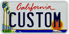 USA State Custom Aluminum Any Name Text Number Novelty Car License Plate фото