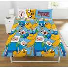 Adventure Time Reversible Jake & Finn Duvet Cover Set - OFFICIAL Merchandise NEW